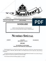 Décret Fixant l'Organisation Et Le Fonctionnement de La Commune