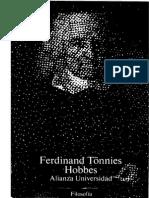 Tönnies, Ferdinand - Hobbes. Vida y doctrina. Alianza Ed.  1988.pdf