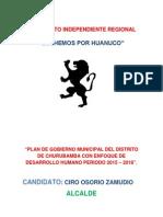 Plan de Gobierno Churubamba