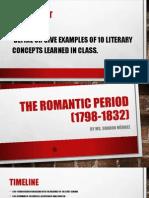The Romantic Period
