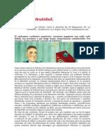 Contra La Identidad Jose Orlando Melo