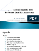 Application Security and Secure Programming