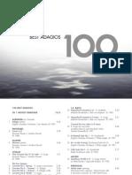 Digital Booklet - 100 Best Adagios (.pdf