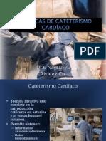 Técnicas de Cateterismo cardíaco Naysa.pptx