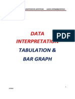 Datainterpretation Tabulation and Bar Graph