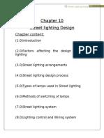 Chapter 10 Street Lighting