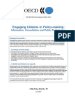 Engaging Citizens in Policy-making Process