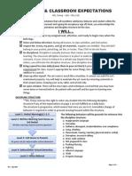 behavior contract 2014 15