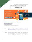 Mobile Application Development Contest (MyMAD) 2014