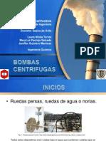 BOMBAS CENTRÍFUGAS