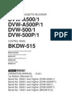Sony DVW-A500