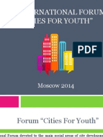 #cities4youth programme
