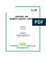 Report on Bharti Airtel Limited