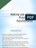 Uso de Funcionalidad Del Proxy de Usuario