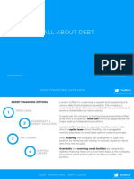 The basics of Debt Financing explained in 5 minutes [Simplified]