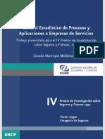 Contros Estadistico de Procesos y Aplicaciones a Empresas de Servicios