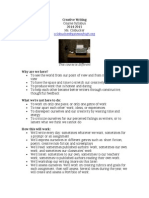 creative writing syllabus 2014-2015