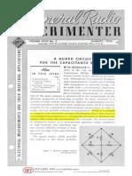 GenRad Experimenter Aug 1952