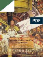 Bernardo Bolaños Guerra Argumentación Científica y Objetividad