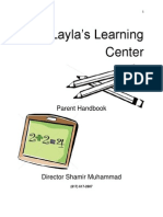 layla learning center handbook