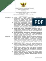 Peraturan Daerah Kabupaten Banjar Nomor 3 Tahun 2013 tentang Rencana Tata Ruang WIlayah Kabupaten Banjar Tahun 2013 - 2032