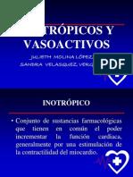 102799374 Inotropicos y Vasoactivos Ppt