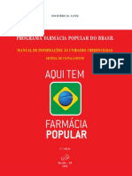Farmacia Popular Manual Sistema Copagamento 2ed
