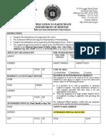 Missouri 1033 Application
