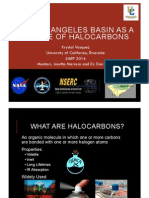 The Los Angeles Basin as a Source of Halocarbons