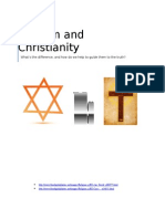 Judaism Vs Christianity a school essay
