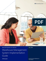Microsoft Dynamics Warehouse Management System Implementation Guide
