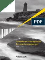 EY Compliance Management for Asset Management Survey 2012