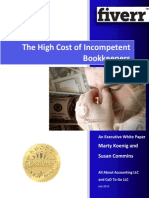The High Cost of Incompentent Business Bookkeeping