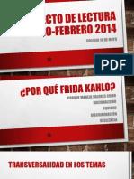 Proyecto de Lectura Enero-febrero 2014