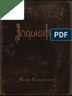 Inquisitor - Game Companion