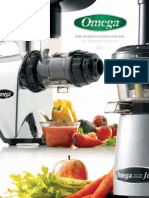Omega Juicer and Beverage Equipment Manual
