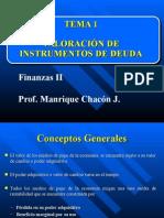 Tema I-Valoracion de Bonos Vf