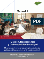Manual 1Gestion Transparencia y Gobernabilidad Municipal