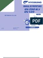 Manual de Propietario GV 250 FI Delphi y GV125