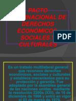 Pacto Internacional de Derechos Económicos, Sociales y
