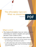 the affordable care act final