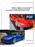 Marketing Research on Bangladeshi Car
