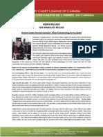 Press Release Walsh Award 2014 - Teegan Martin