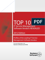 Top 10 Itsm Vendors Service Desk