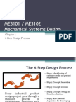 Chapter 1 - 6 Step Design Process