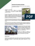 Contaminación de Las Plantas Industriales