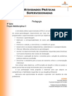 ATPS A2 2014 2 PED4 Projeto Multidisciplinar II