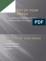 Presentation 4_body of Paper