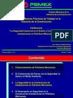 Conferencia GCB Seguridad en Pemex 17 oct 06.ppt
