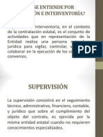 Supervisión e Interventoria
